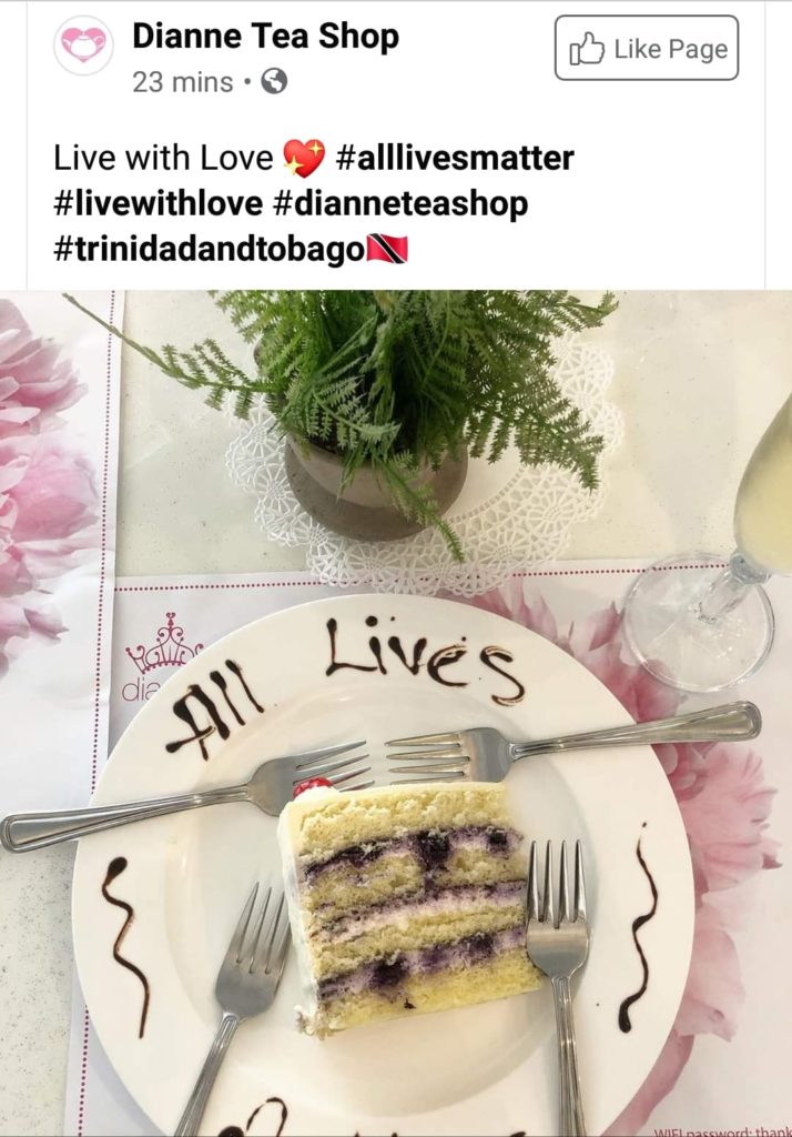 All Lives Matter Cake